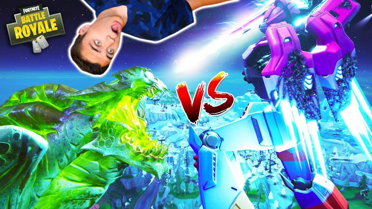 Monstre Vs Robot Le Grand Combat Fortnite Battle Royale Néo The One