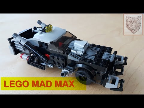LEGO самоделка тачка Безумного Макса. LEGO MAD MAX.