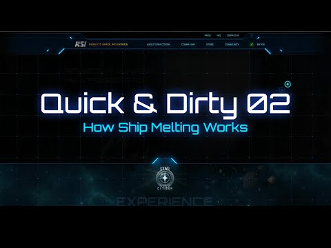 Star Citizen - How Ship Melting Works