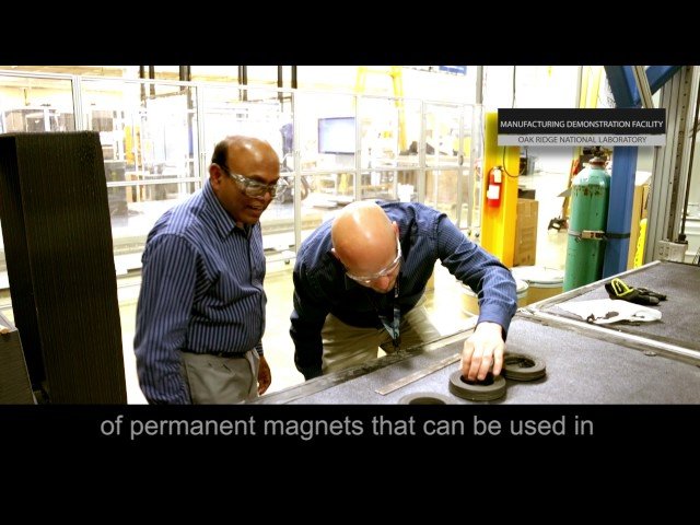 3D-printed permanent magnets outperform conventional versions, conserve rare materials