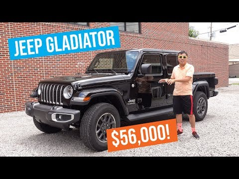 Is the 2020 Jeep Gladiator Worth $56,000? | Victor Car Review