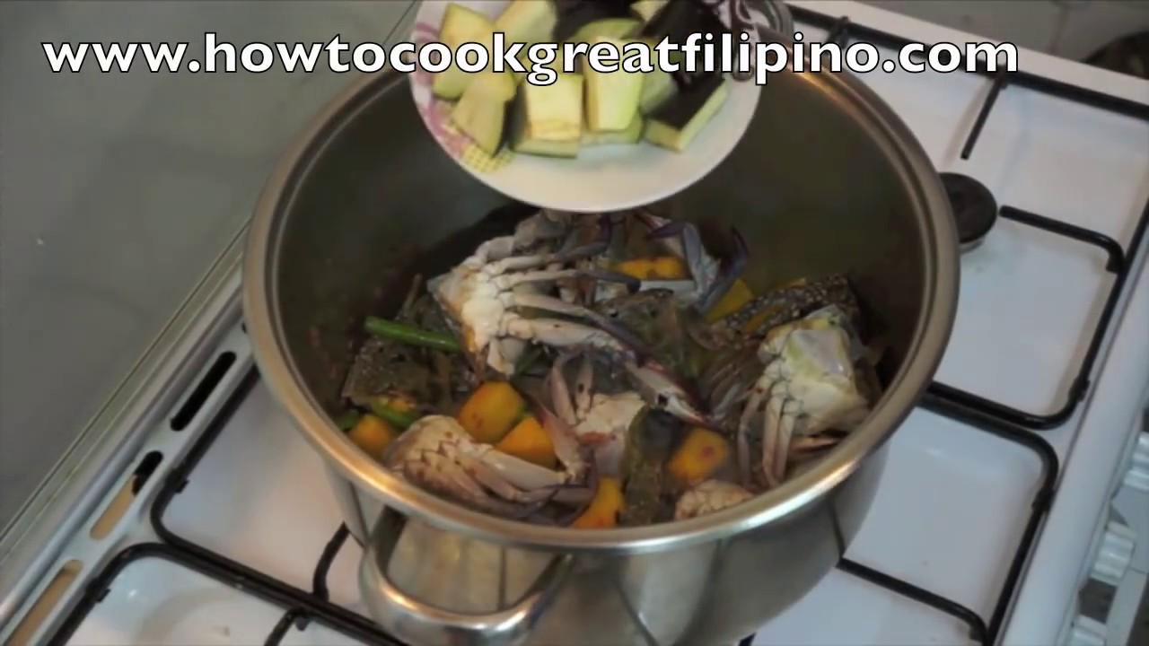 Ginataang alimasag recipe pinoy filipino crab youtube forumfinder Images