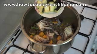 Ginataang Alimasag Recipe - Pinoy Filipino Crab