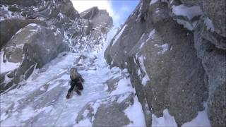 Super Couloir Direct Mt Blanc du Tacul Winter Ascent