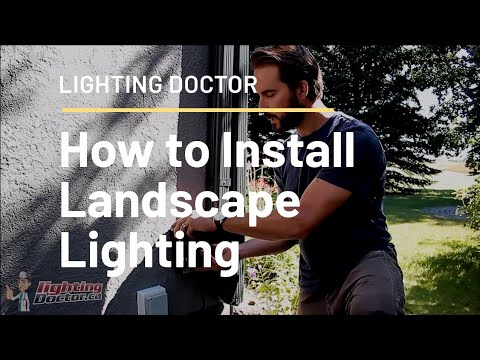 How to Install Low Voltage Landscape Lighting - Complete Step by Step Video