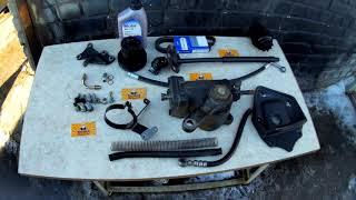 Гур на Газель zf бизнес с двигателем ЗМЗ 406/405
