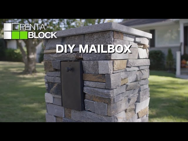 Pentablock Diy Mailbox Youtube