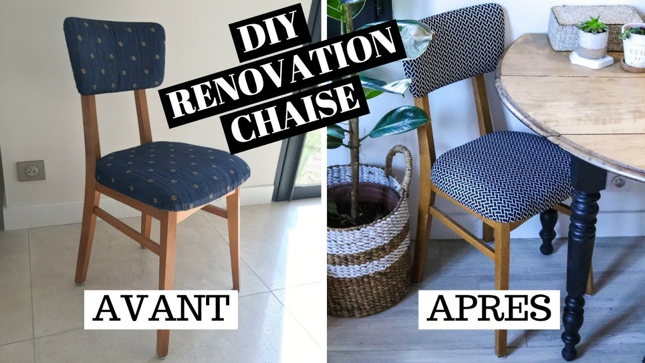 Comment Renover Une Chaise DIY Niveau Facile