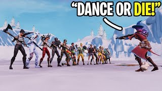 "Playing ""SIMON SAYS"" in Fortnite CREATIVE Mode!!!"