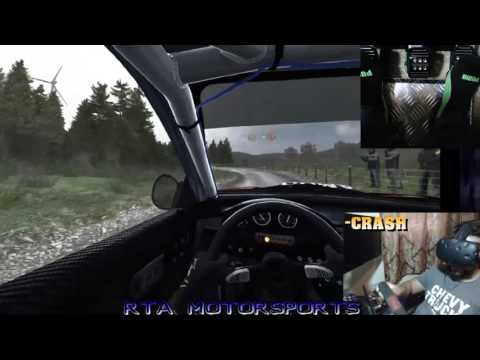 HTC VIVE DIRT RALLY TEST: THE CLINCH IS REAL