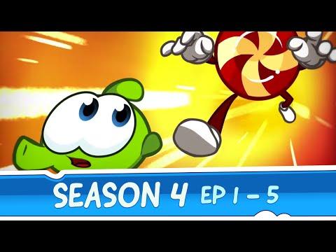 Om Nom Stories Season 4 — Episodes 1 - 5 (Cut the Rope: Magic)