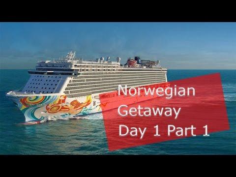 Norwegian Getaway Cruise Vlog   Day 1
