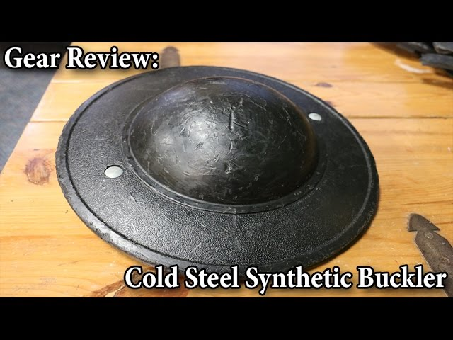 Cold Steel Synthetic Buckler - Gear Review - YouTube