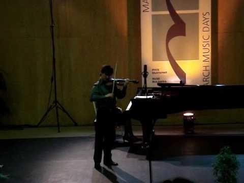 "Sarasate: Concert Fantasy on Gounod's ""Faust"", op. 13 - Pedro Barreto (p.1/2)"