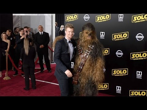 "Joonas Suotamo, Chewbacca ""Solo: A Star Wars Story"" World Premiere Red Carpet"