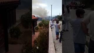 Rogo nel villaggio post sisma a Colletorto