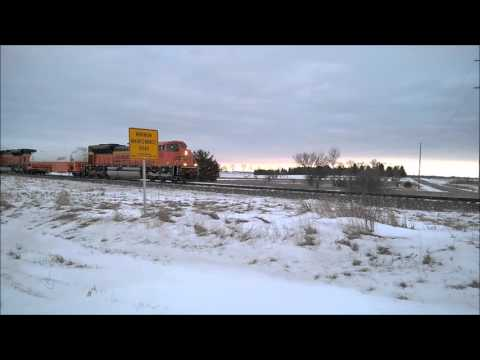 BNSF Natural Gas Locomotives