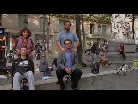Reportage Laith Bazari Al Arabiya Free Massage - Paris - France