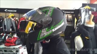 Kawasaki K-Ninja HJC helmet