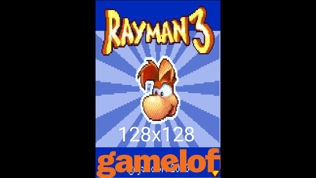 Download Rayman 3 | 128X128 | Java Game | 2003 | Gameloft By: GamesSky