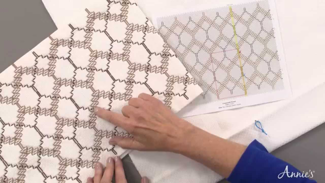 Swedish Weaving Huck Embroidery Made Easy An Annies Video Class