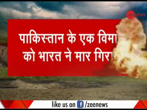 India shoots down Pakistan Air Force's F-16 that violated Indian air space