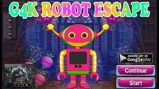 G4K Robot Escape Walkthrough [Games4King]