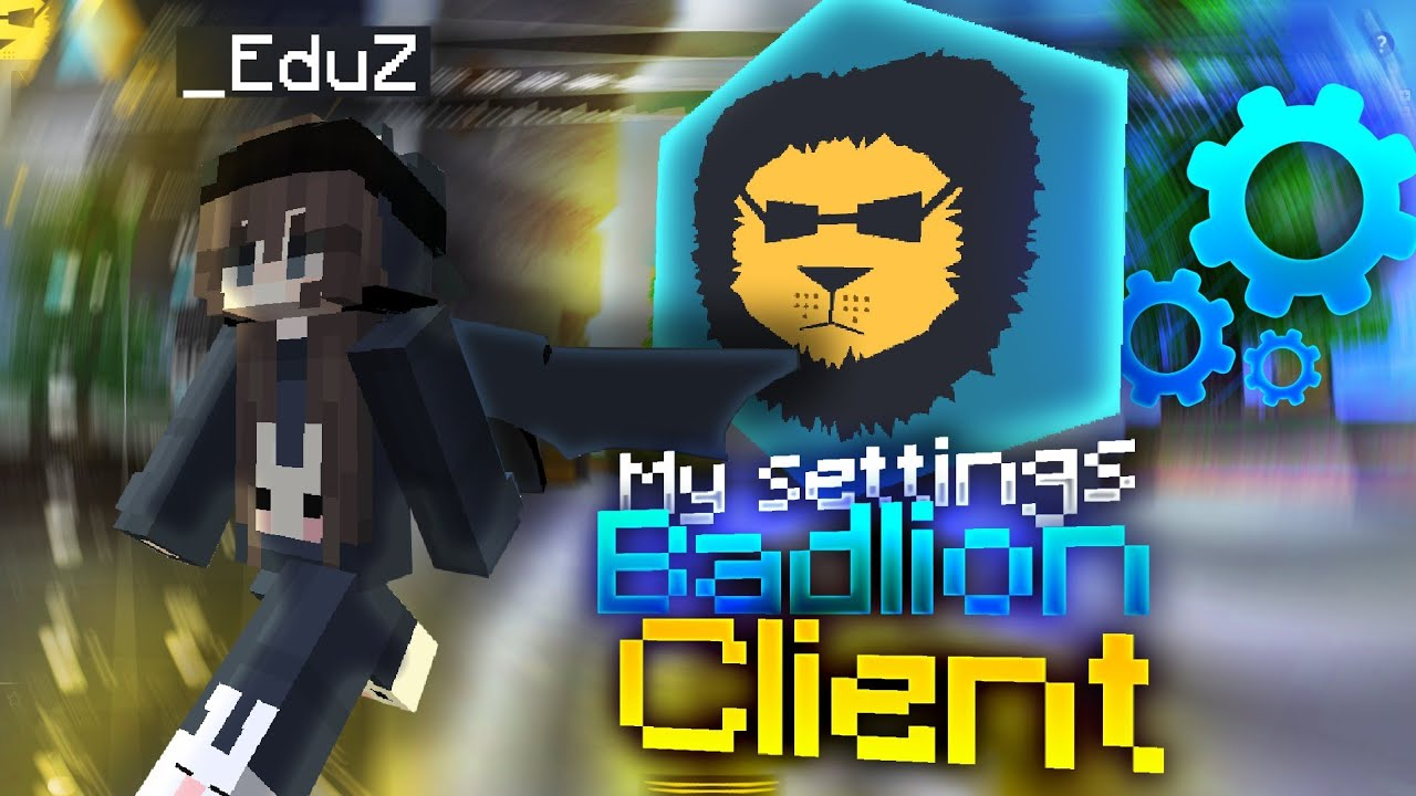 ➥TODA MI CONFIGURACIÓN DE BADLION CLIENT 🦁  PARA SKYWARS Y PVP (FPS BOOST)!!!