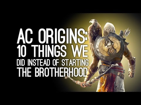 Assassin's Creed Origins Gameplay: 10 Things We Did Instead of Starting the Brotherhood