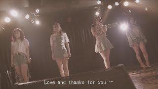 去年行われた解散ライブの映像を使用した配信シングル「Dream」のミュー...