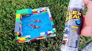 LEGO *FLEX SEAL* Aquarium Pond!