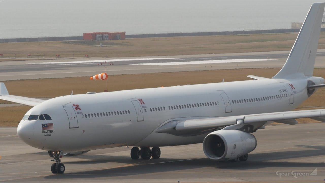 AirAsia X : Airbus A330-300 9M-XXM : Takeoff - Kansai ...