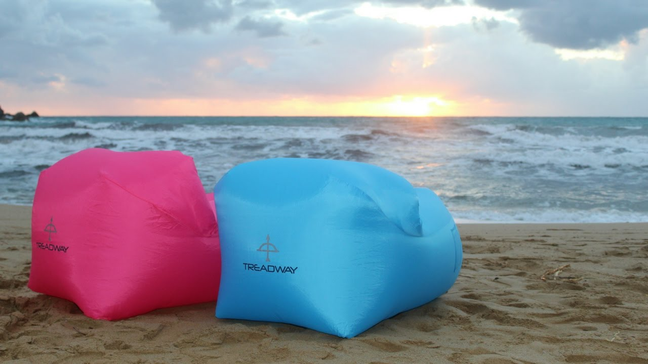 The Air Chair Inflatable Lightweight Camping Lawn Beach Lounge Chairs