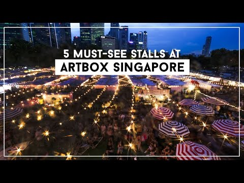 5 Must-See Stalls at Artbox Singapore
