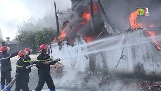 BẢN TIN 141 | 12.12.2017 | Cháy lớn tại công ty CP thủy sản Phước cơ Vũng Tàu