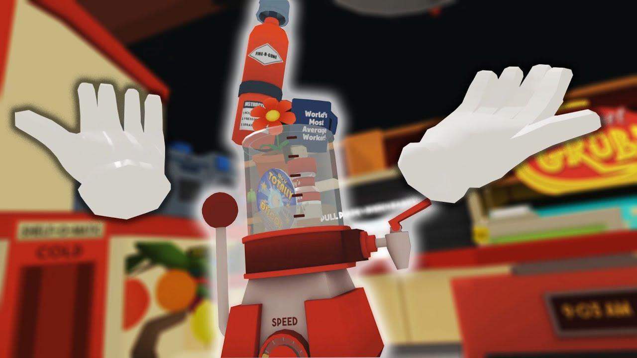 will it blend VR edition! (Job Simulator finale)