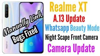 Realme XT A.13 Update | Realme XT Update | Realme Update