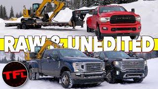 Cummins vs Duramax vs Power Stroke: All New 2020 HD Trucks Tow 30,000 lbs Up The Ike Gauntlet