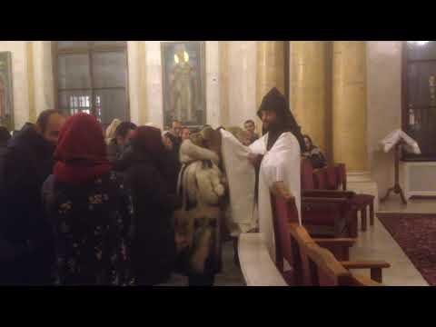 Рождественский Сочельник в Армянской церкви Санкт-Петербурга