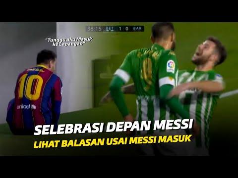 """""""Jangan Berselebrasi Di Depan Messi"""" Inilah Reaksi Pellegrini Usai Messi Masuk Ke Lapangan"""