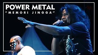 Power Metal - Memori Jingga  ( Live at Jogjarockarta 2017 ) Official HD