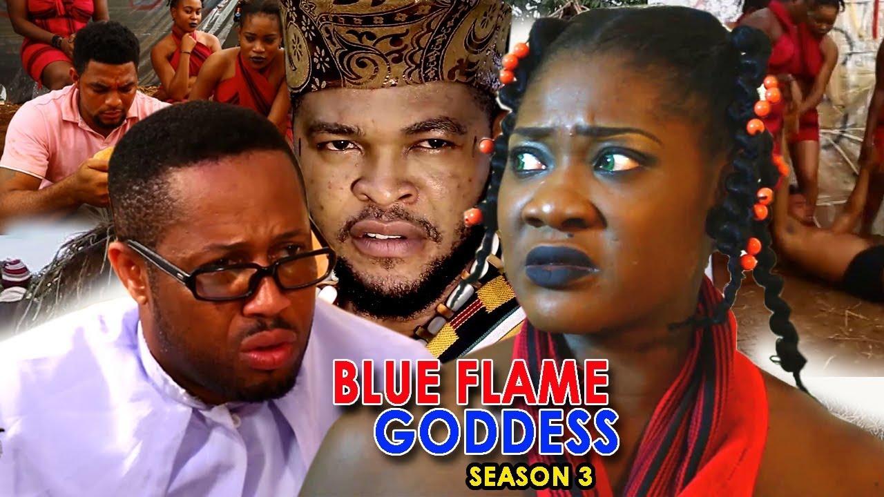Download Blue Flame Goddess Season 3 - Mercy Johnson 2018 Latest Nigerian Nollywood Movie Full HD   1080p
