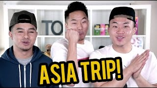 ASIA TRIP! Taiwan, Hong Kong, Singapore!