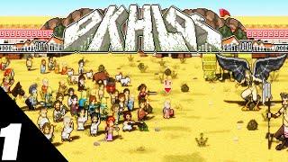 Okhlos Gameplay - Greek Pikmin - Part 1