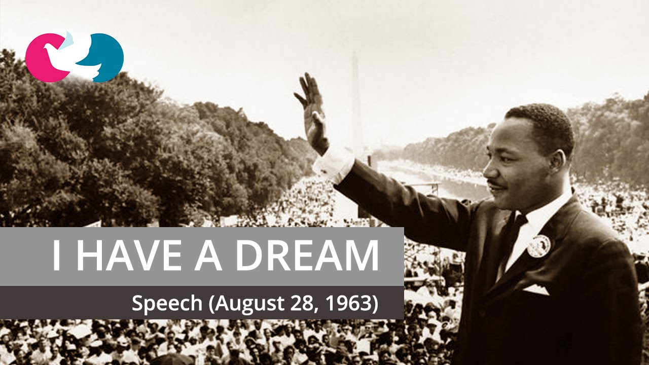i have a dream speech metaphor Martin luther king, jr's 'i have a dream' speech is a well-known civil rights message that is filled with figurative language in this lesson.