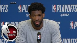 Joel Embiid: Justise Winslow tried to break my mask, but I've got 50 of them | NBA on ESPN