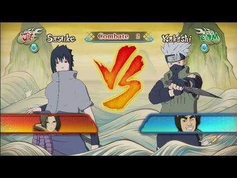 Naruto Shippuden: U. Ninja Storm Revolution DEMO - Sasuke (Tipo Despertar)