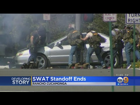 Pursuit, SWAT Standoff Ends With Arrest In Rancho Cucamonga