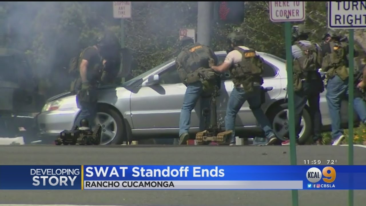 SWAT Standoff Ends With Arrest In Rancho Cucamonga | worduser01