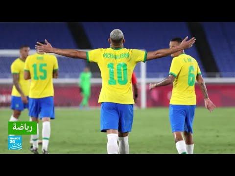 منتخب البرازيل لكرة القدم يحقق فوزا ثمينا على المنتخب الألماني في افتتاح أولمبياد طوكيو  - 16:55-2021 / 7 / 23